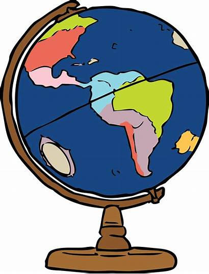 Globe Vector Domain Clipart Earth Geography Globes