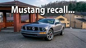 05-09 Ford Mustang Airbag Recall V6 GT V8 Pony Package - YouTube