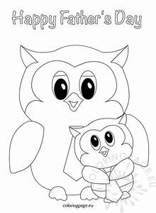 Patrick Christmas Coloring Pages Father S Day Owls Design Coloring Page