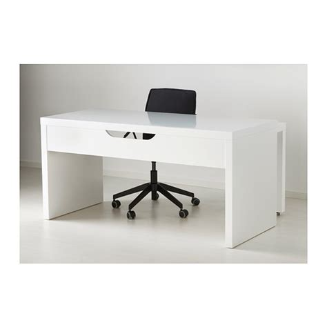 ikea malm pull out desk white malm desk with pull out panel white 151x65 cm ikea