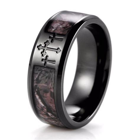 15 Collection Of Mens Camouflage Wedding Bands