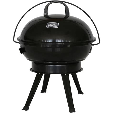 expert grill xg17 096 034 00 14 5 quot dome charcoal grill black vip outlet