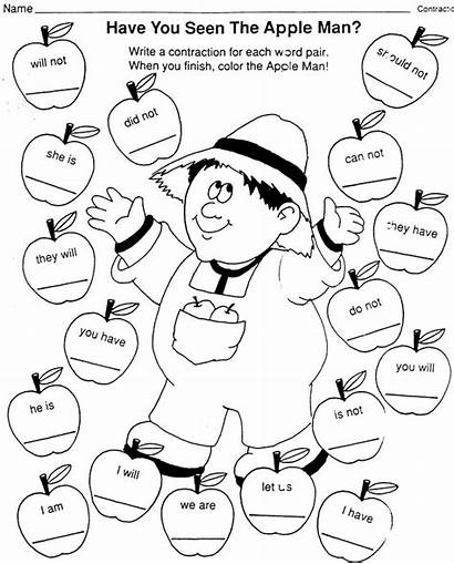 Coloring Appleseed Johnny Pages Printable Language Arts