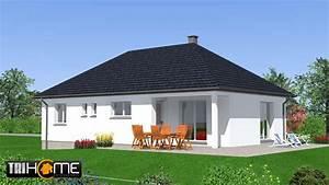Construction maison Style Plain pied 4 pièces Alsace Hermes Tri Home Constructions