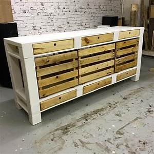 Pallet TV Stand / Cabinets and Drawers 101 Pallets