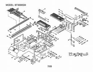 Looking For Ryobi Model Bt3000sxi Table Saw Repair