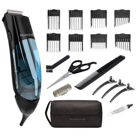remington vacuum trimmer  hair clipper  piece vacuum haircut kit