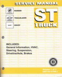service repair manual free download 2005 buick rainier transmission control 2005 chevrolet trailblazer ext gmc envoy xl xuv and buick rainier st platform suv service