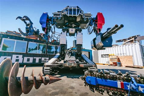 Giant Robot Fight Organizers Say They Want Giant Robot