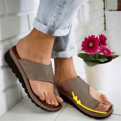 Shoes Sandals Bunions Platform Comfy Flops Flip