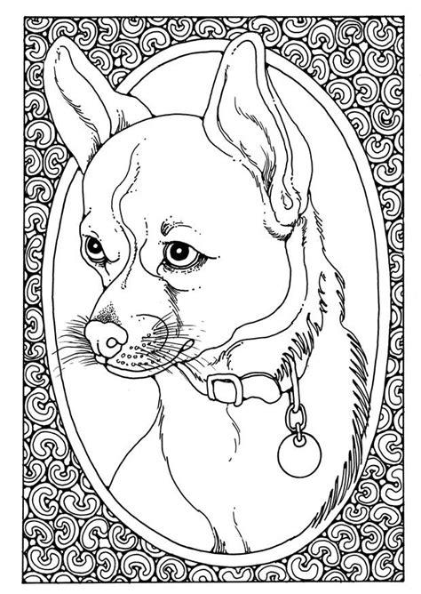 coloriage portrait de chien coloriages gratuits  imprimer dessin