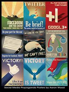 Social Media Propaganda Poster Limited Edition