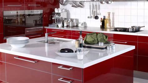 cocinas rojas modernas youtube