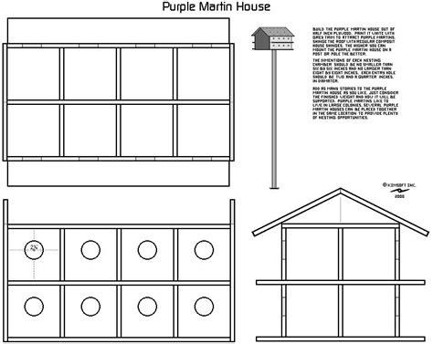 purple martin bird house plans bird stuff pinterest