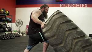 20,000 Calorie-Eating Giant Aims to be America's Strongest Man