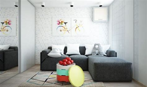 Bright And Compact 1 Bedroom Apartment For Family Floor Plan Included by 3910 Best Living Room Designs Images On