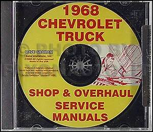 1968 Chevrolet Truck Owner U0026 39 S Manual Reprint Pickup