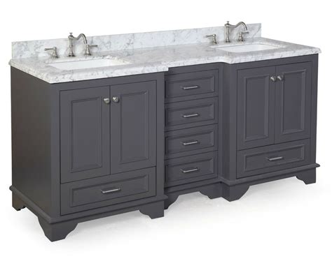 Bathroom Vanities Sink 72 by 72 Quot Luxury Gray Sink Bathroom Vanity W Carrara
