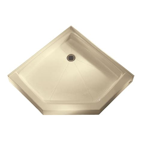 shower pan american standard neo angle shower base integral water retention and tiling flange shower
