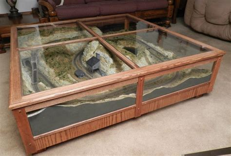 Coffee Table Model Railroad  Model Trains And Layouts