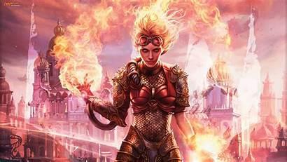 Magic Gathering Fire Arena 1080p Chandra 4k