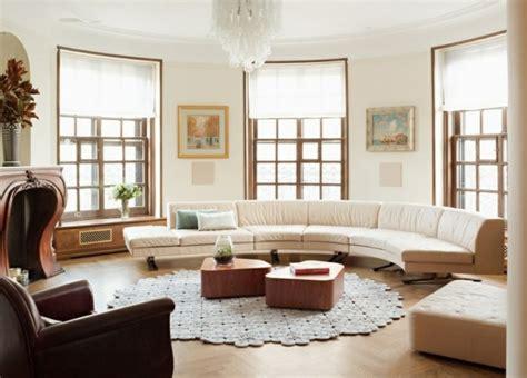 Kuerbis Dekorationsideenhalloween Dekoration Fuer Das Wohnzimmer by Wundersch 246 Ne Vorschl 228 Ge F 252 R Ein Halbrundes Sofa