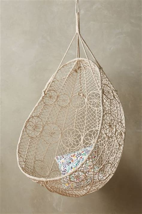knotted melati hanging chair 20 bohemian decor details for your home interior for