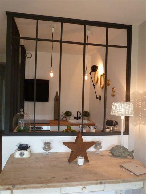 separation salon cuisine separation cuisine verriere maison design bahbe com