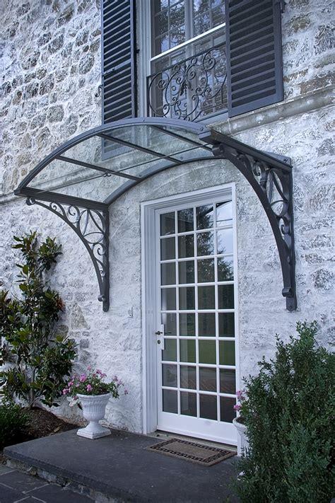 Glass Awning Residential by Gutierrez Studios Installations Joppa Canopy