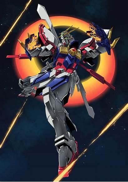 Gundam Wing Burning Mobile Suit