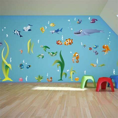 Wandtattoo Kinderzimmer Aquarium by Wandtattoo Kinderzimmer Unterwasserwelt