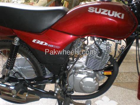 used suzuki gd 110 2013 bike for sale in lahore 109913 pakwheels