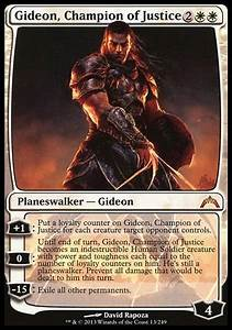 Gideon, Champion of Justice (Gatecrash)