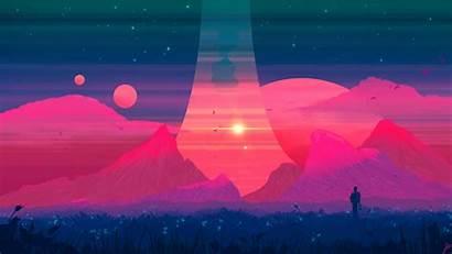 Pastel Landscape 4k Wallpapers Dreams Joeyjazz Desktop