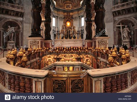Old Papal Tombs In St Peter S Basilica