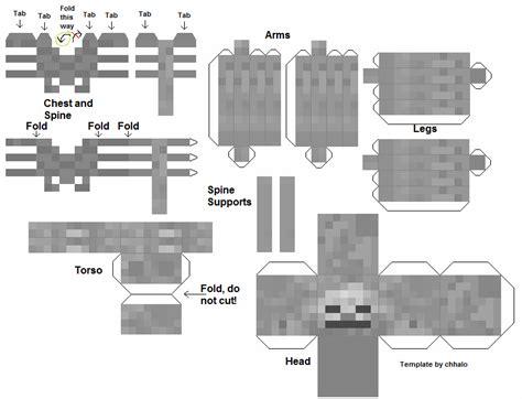 Papercraft Skeleton