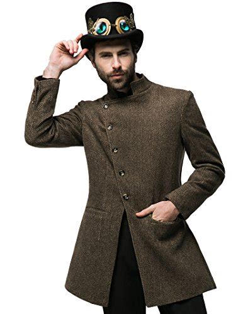 steampunk jackets  men  steampunked