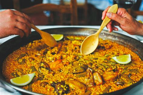 ma cuisine facile recette de la paella valenciana