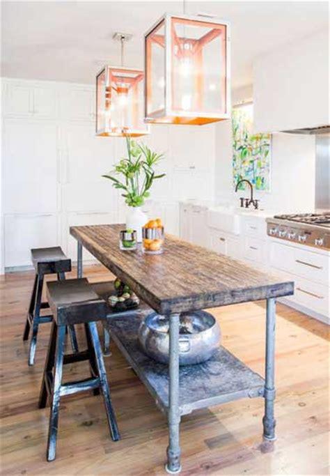 industrial style kitchen islands 15 d 233 co cuisine avec un coin repas malin 4680