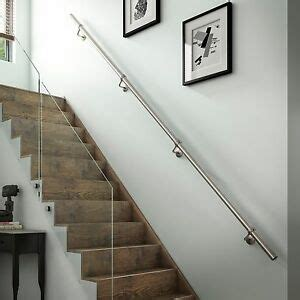 Buy Banister by Chrome Handrail Stairs Ebay