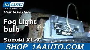 How To Replace Fog Light Bulb 98-06 Suzuki Xl-7