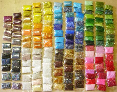 posten pack roccailles glas perlen mm rocailles seed beads