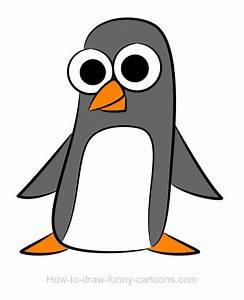 Penguin drawings (Sketching + vector)