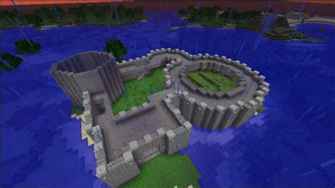 minecraft building  fort youtube