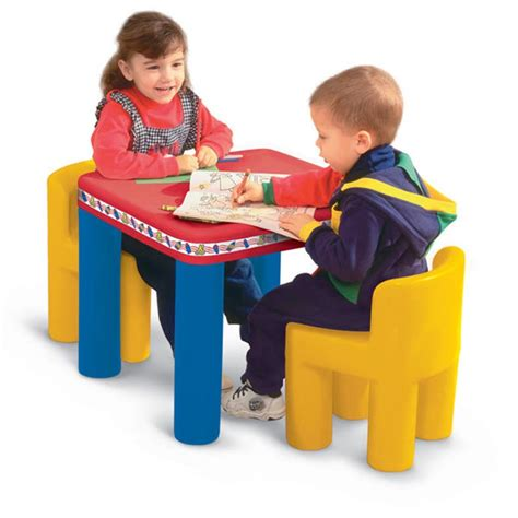 classic table and chairs best educational infant toys