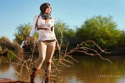 stunning uncharted  cosplay  jessica nigri shows lady