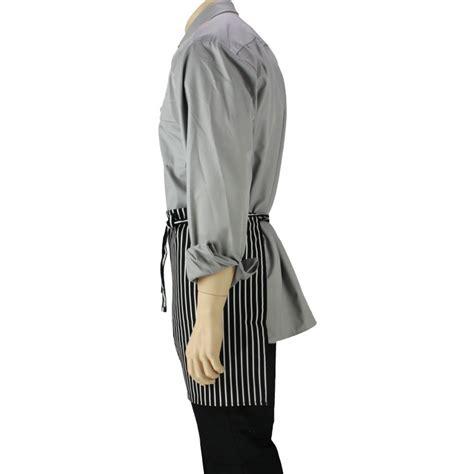 tablier noir de cuisine tablier de cuisine à la taille é noir et blanc lisavet