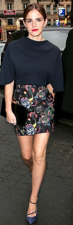 Watson Illuminati Who Made Watson S Floral Skirt Navy Blue