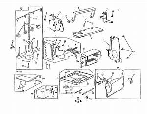 Sewing Machine Diagram  U0026 Parts List For Model 14u344b