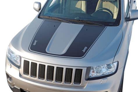 jeep grand cherokee stickers jeep grand cherokee hood decal part no 82212889